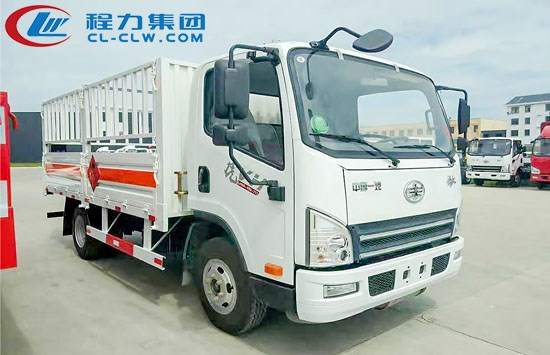 解放虎V气瓶运输车(4.15米)