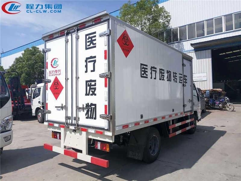 江铃医疗垃圾运输车图片2