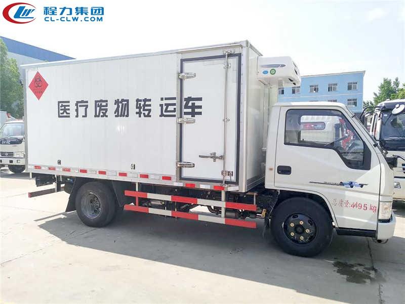 江铃医疗垃圾运输车图片1