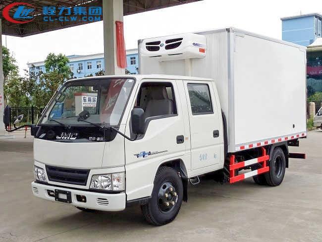 江铃双排冷藏车(3.22米)