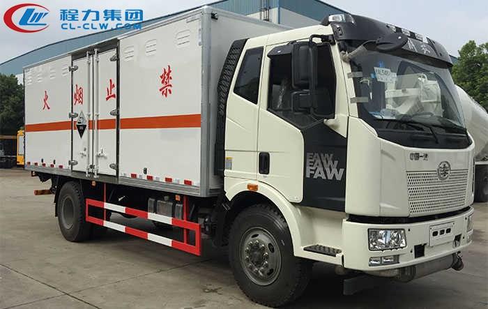 解放J6杂项危险品运输车(6.2米)