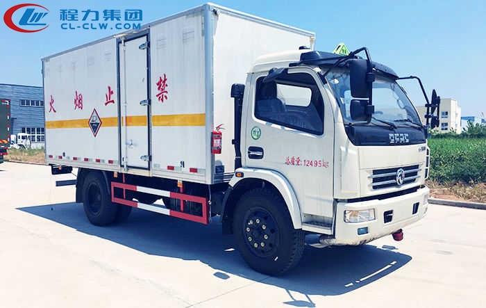 东风多利卡腐蚀性物品厢式运输车(5.15米)