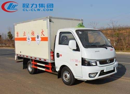 东风途逸毒性和感染性物品厢式运输车(3.17米)