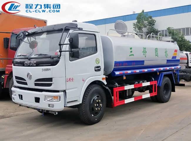 东风福瑞卡8.5吨洒水车