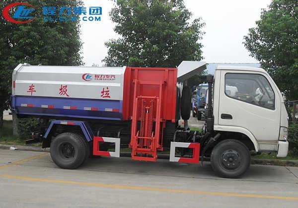 东风小多利卡挂桶垃圾车