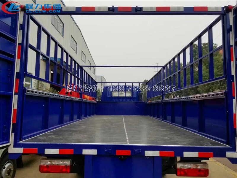 东风多利卡排半6.5米气瓶运输车
