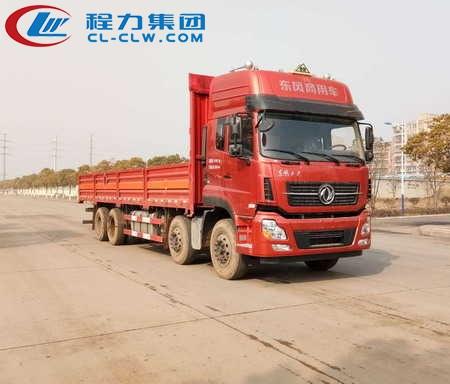 东风天龙前四后八气瓶运输车(9.4米)