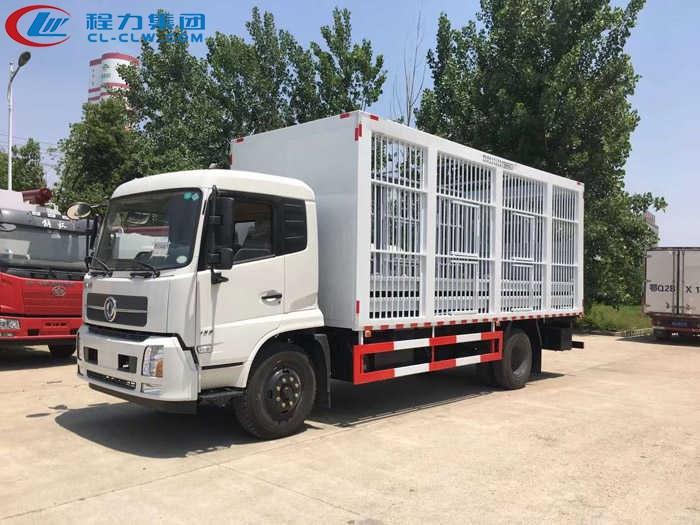 东风天锦仓栏畜禽运输车(6.53米)