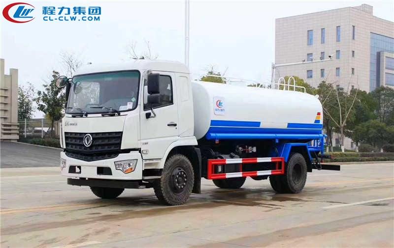 东风专用底盘15吨洒水车