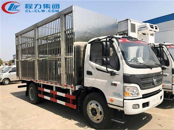 福田欧马可畜禽运输车(5米)(仓栏)