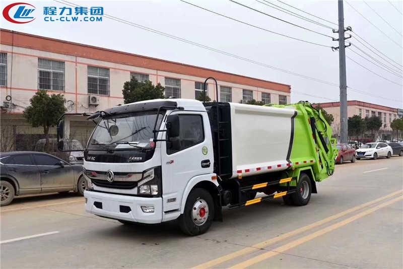 东风凯普特8方压缩式垃圾车