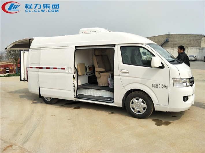福田G7双排面包式冷藏车