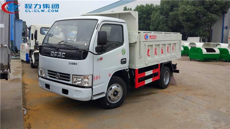 东风小多利卡自卸式垃圾车(3.3米)
