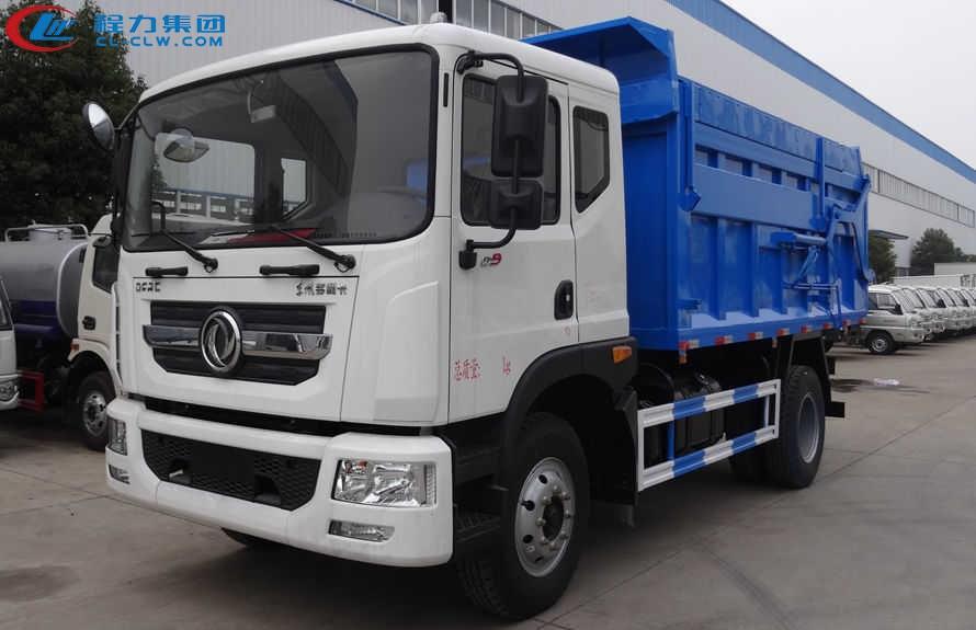 东风多利卡D9对接式垃圾车(14方)