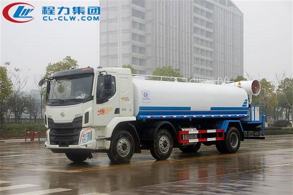 柳汽乘龙前四后四雾炮车(18吨)