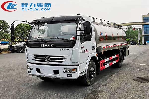 东风多利卡8吨鲜奶运输车(8方)