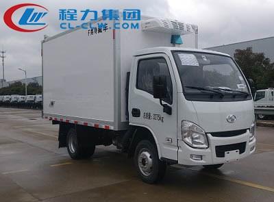 跃进小福星国六汽油版冷藏车详细配置