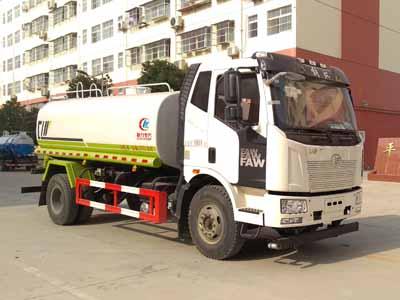 国六解放13吨洒水车