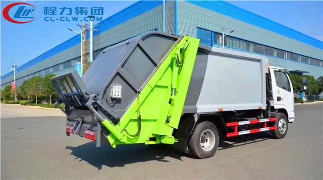 东风小多利卡6方压缩式垃圾车图片