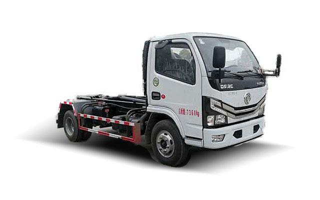 东风多利卡D6勾臂式垃圾车(国六)