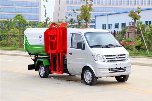东风小康挂桶式垃圾车(3方)