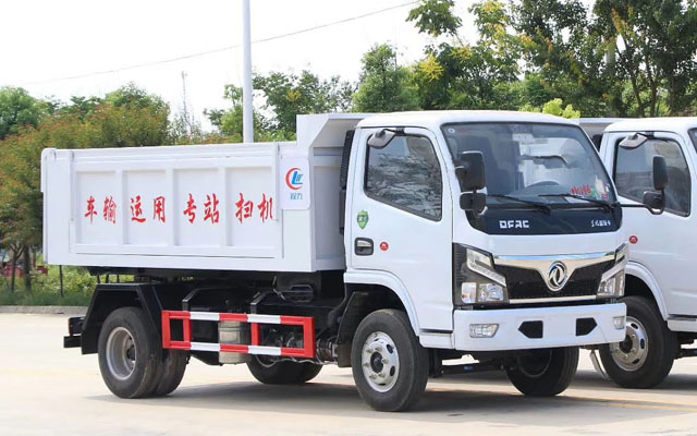 东风福瑞卡国六自卸式垃圾车