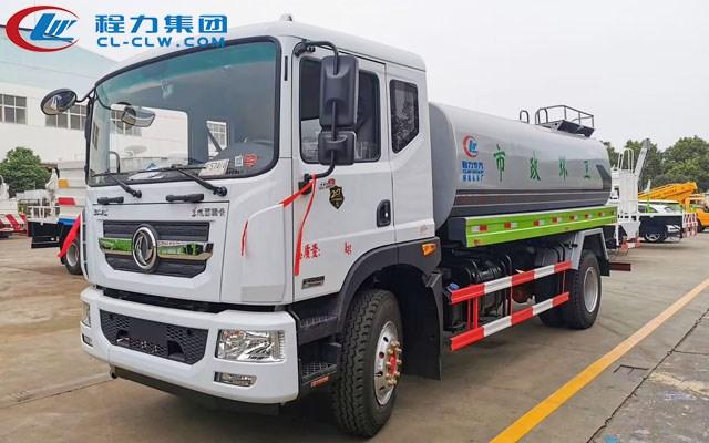国六东风D9多利卡14吨洒水车