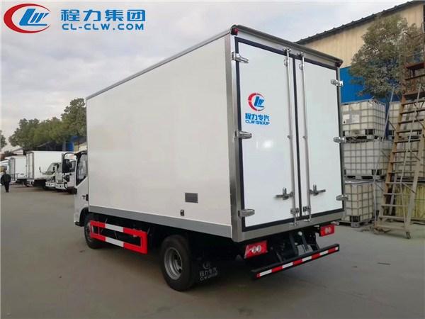 国六福田欧马可冷藏车图片