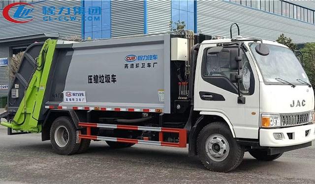 江淮8方压缩式垃圾车