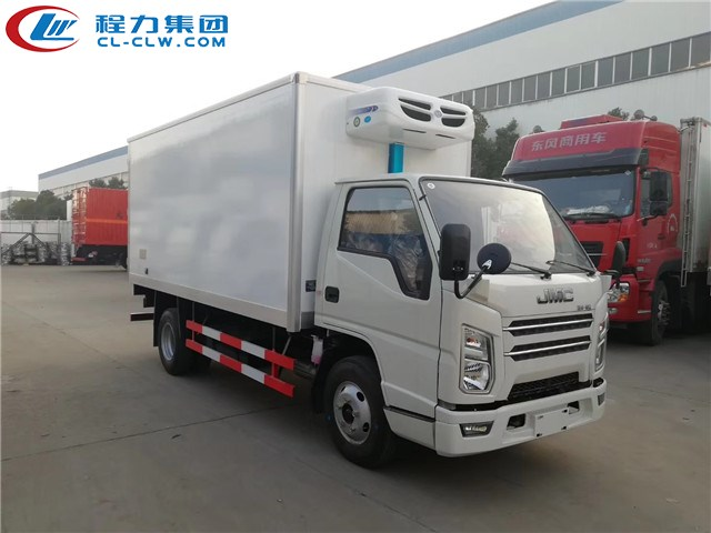 经典国六4.2米冷藏车推荐:江铃国六冷藏车