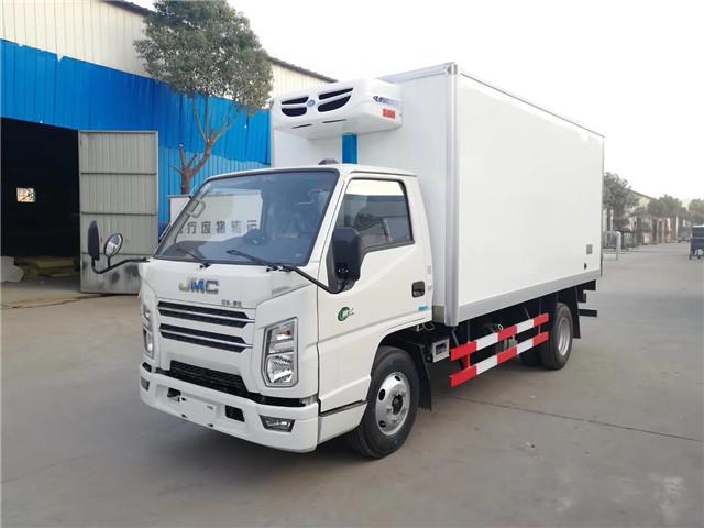 江铃国六冷藏车图片
