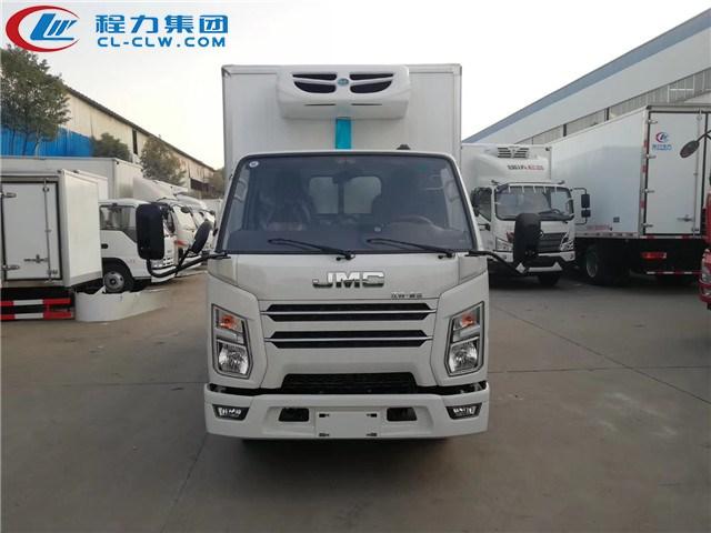 国六江铃冷藏车图片