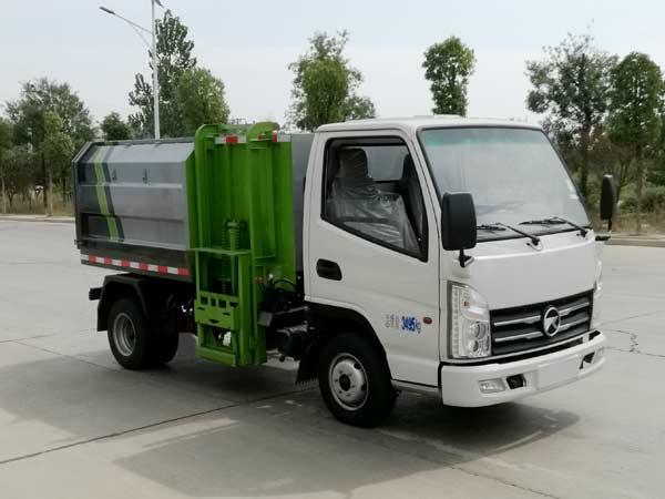 凯马小型挂桶式垃圾车(3~4方)