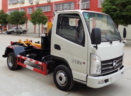凯马3方拉臂式垃圾车(国六)
