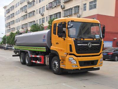 东风天龙18吨洒水车