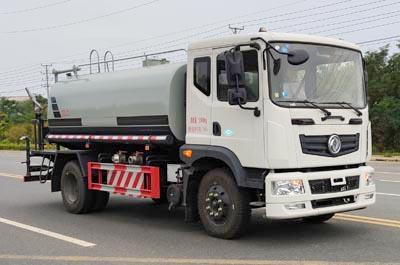 东风8吨天然气洒水车