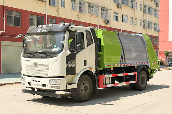 解放J6高端压缩式垃圾车(国Ⅵ)