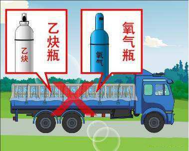 带你了解危险品运输知识——乙炔瓶和氧气瓶怎么运输?