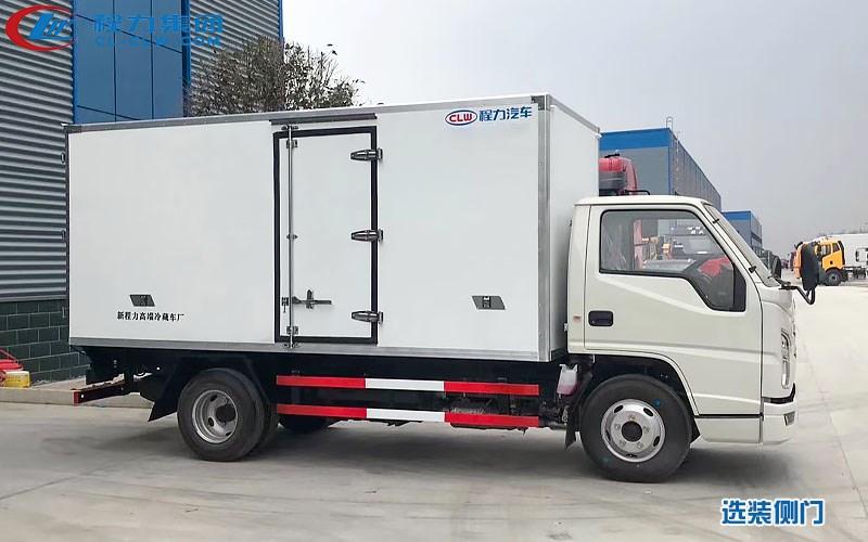 江铃国六冷藏车——选装侧门图