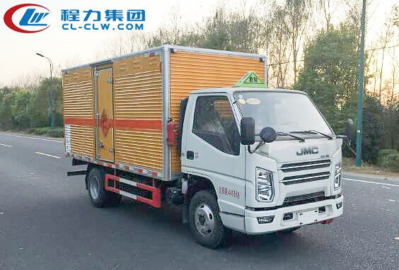国六江铃爆破器材运输车(4.11米)