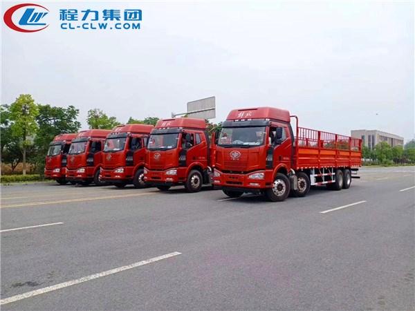 适合长途运输,上户21吨的2类危险品运输车——解放9.3米气瓶运输车