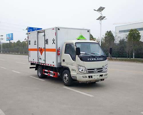 国六福田小卡之星3爆破器材运输车