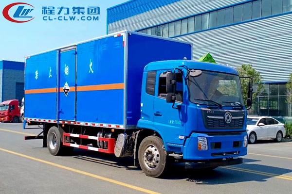 东风天锦腐蚀性物品厢式运输车(6.2米,6.6米)