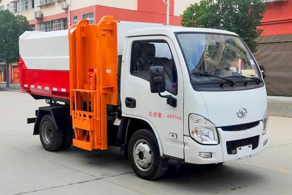 跃进挂桶式垃圾车(5方)