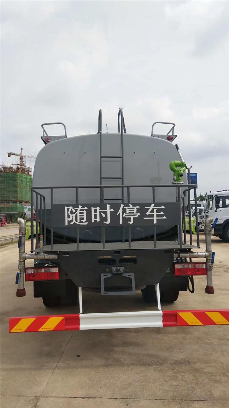 ???????东风14吨洒水车尾部视图