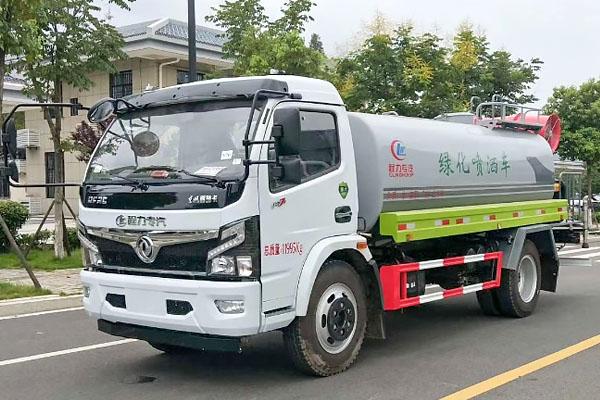 东风福瑞卡8.8吨雾炮车