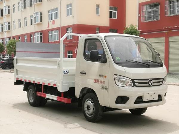 福田祥菱M1桶装垃圾运输车