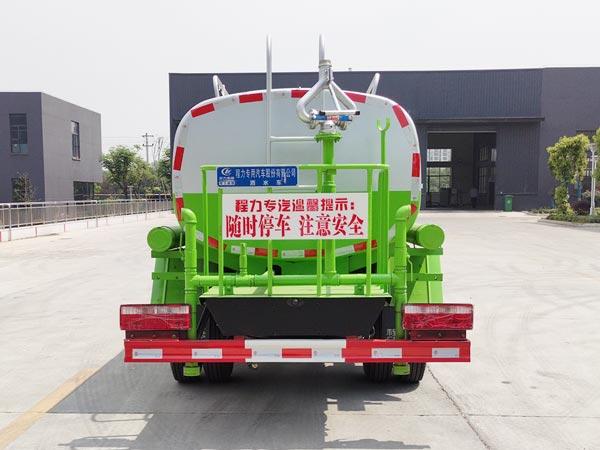 江淮5吨洒水车正面图片
